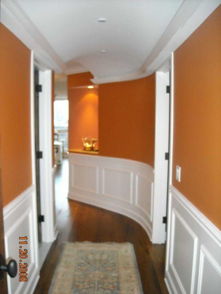 Die besten 25+ Orangene flurfarbe Ideen auf Pinterest Land - wohnzimmer grau orange