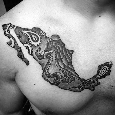 Mayan Tattoos, Eagle Tattoos, Leg Tattoos, Body Art Tattoos, Sleeve Tattoos, Tattoos For Guys, Tatoos, Aztec Eagle Tattoo, Cool Guy Tattoos