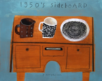 1950s Sideboard by Elaine Pamphilon