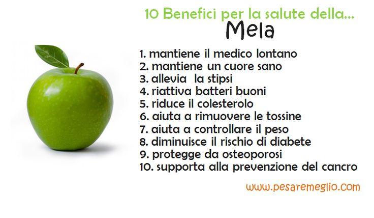 ecco i benefici della mela!