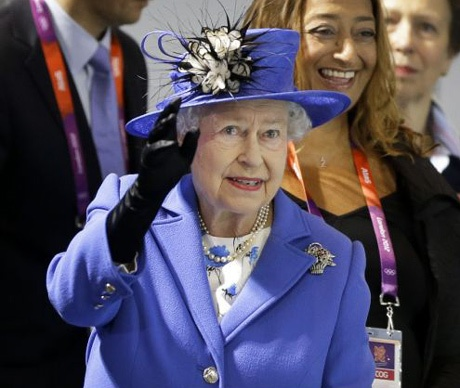 London 2012 : The Queen champions Team GB on opening day of the Olympics - Telegraph