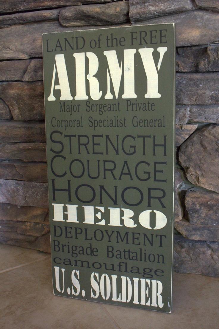 Army Decor.