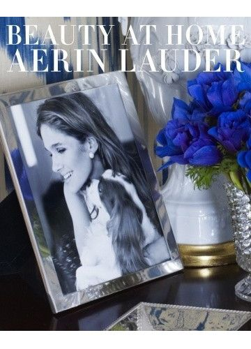 The legendary style icon, Estée Lauder, was a lover of entertaining, flowers and chocolate. She was also Aerin's Lauder's grandmother. In her first book, Beauty at Home, Aerin shares memories of her g