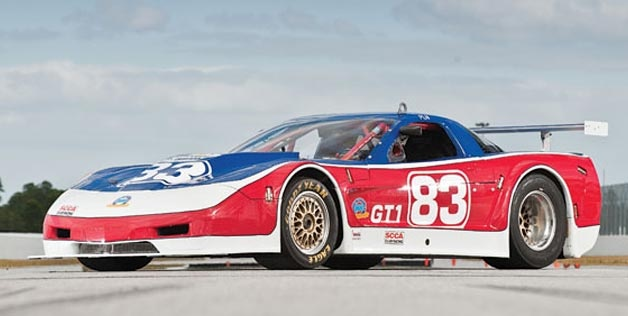 paul newmans race car