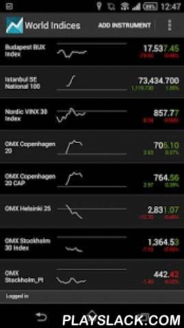 MTrader  Android App - playslack.com ,  Get access to real-time quotes, news, charts, fundamentals and more from your Android device with mTrader.Features- Real-time streaming quotes and news available- Follow stocks, indices, ETFs, futures and options, FX and more- See fundamental data on over 80,000 companies- View integrated intraday and historical charts- Search for instruments quickly and easily- Create custom lists of instruments- Combine data from different markets- View order depth…