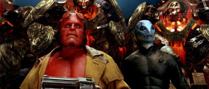 POTD #'Hellboy Actors Ron Perlman and David Harbour Had Dinner Together #SuperHeroAnimateMovies #actors #david #dinner #harbour