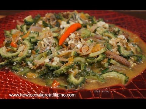 94 best filipino pinoy food recipe video images on pinterest filipino food ampalaya at dangit recipe dried rabbit fish pinoy cooking bitter forumfinder Gallery