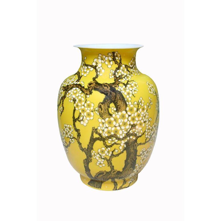 Ваза «Цветение сливы» желтая Homereligion бренд: Homereligion