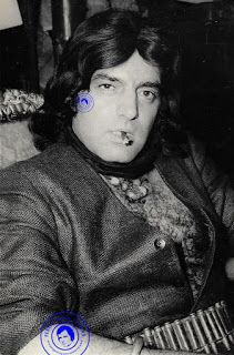 The ever stylish Feroz Khan in this vintage photograph.