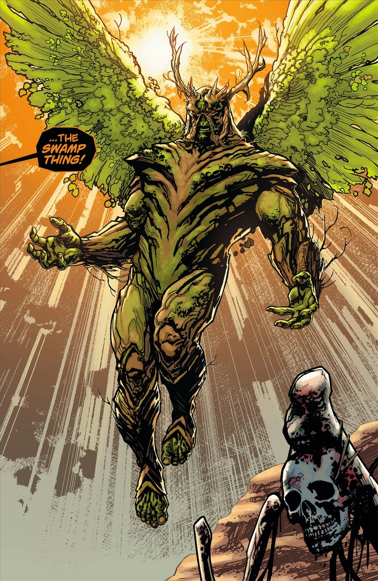 Swamp Thing: Warrior King of the Green