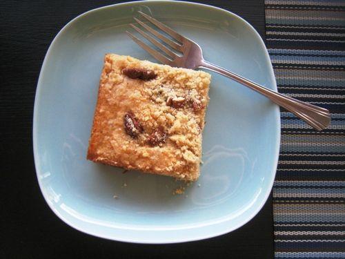 Banana Pecan Coffeecake via @fishmama