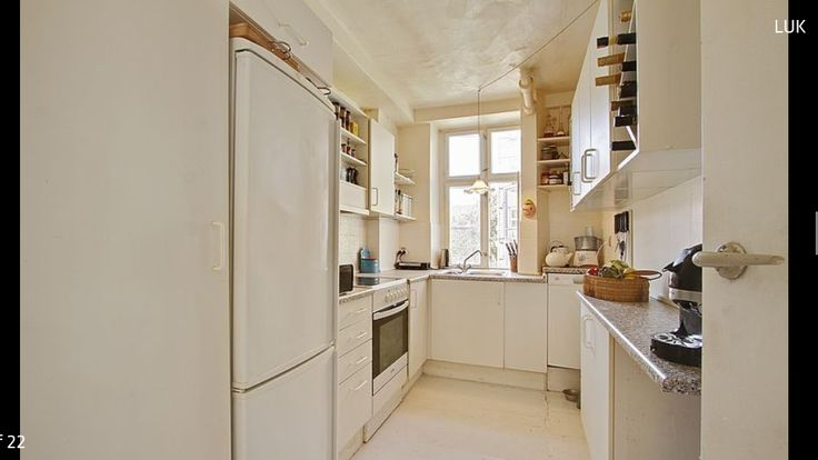 The old kitchen, before renovating and making it a kitchen-dining area together with the old bedroom