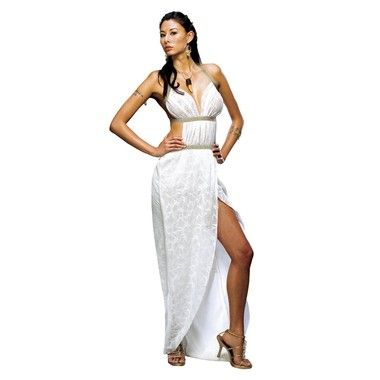 Gorgo, Queen of Sparta - Womens Costume (from 300) includes: Dress, Necklace.