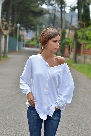 esa camisa blanca !