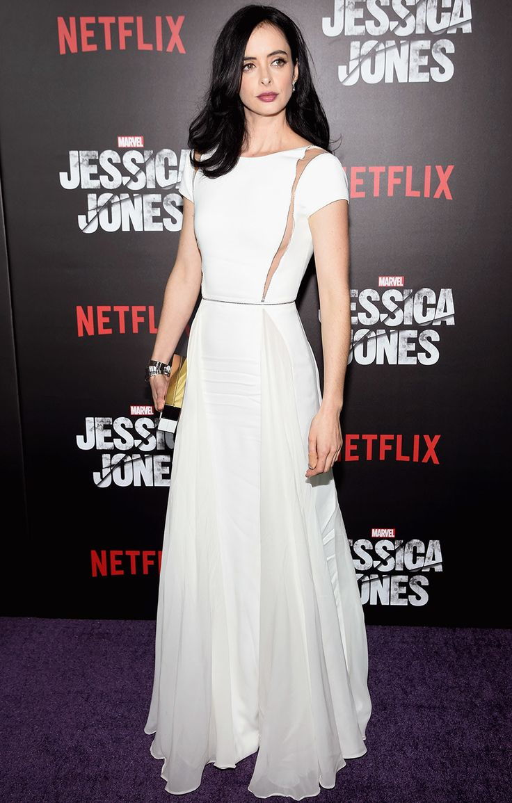 Krysten Ritter in Zuhair Murad at the Jessica Jones Netflix premiere | November 20, 2015