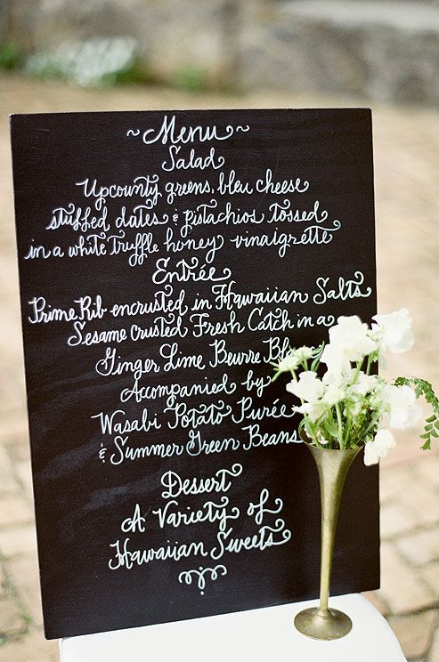 Planning Your Menu by Colin Cowie Weddings: Choose a wedding menu that's true to your tastes as a couple, whether it's Southern barbecue or an Italian buffet.