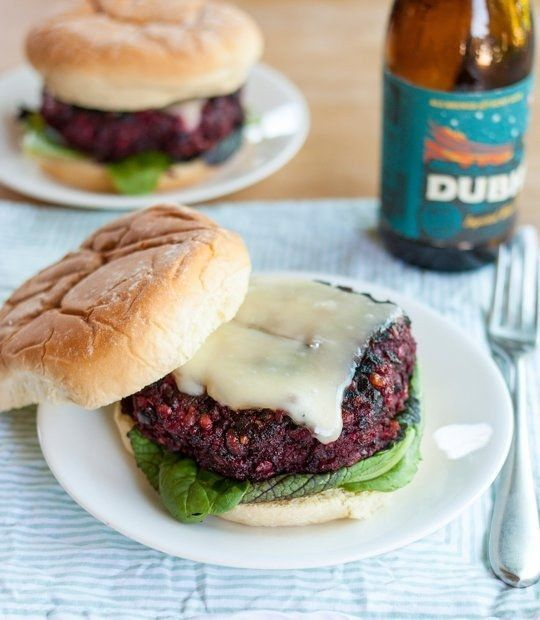 Best Ever Beet Burger | 26 Veggie Burgers That Will Make Meat Question Its Very Existence