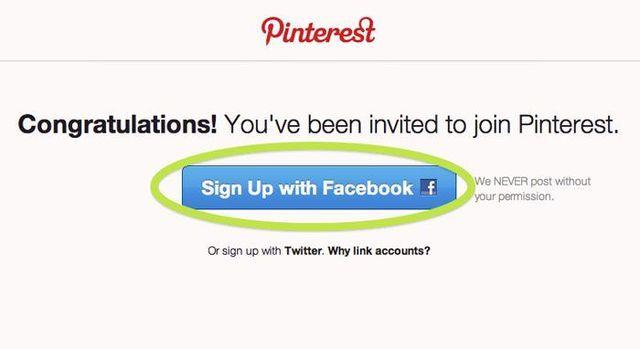 Pinterest es un tablero con imágenes y videos para compartir y organizar las cosas que te gustan. Puedes conectar tu cuenta en Facebook o Twitter con Pinterest para compartir con tus amigos y seguidores las imágenes y videos que te gustan, interesan o que simplemente te inspiran.  En este guía aprenderás cómo abrir una cuenta en Pinterest y conocerás los pasos para crear tus tableros con imágenes y poder compartirlos con tus amigos.: Selecciona ab