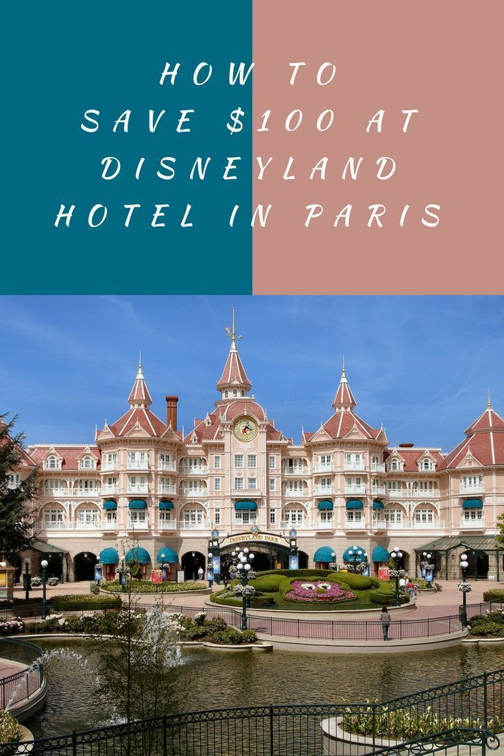 Planning a trip to Disneyland Paris? Looking for where to stay? Stay at the Disneyland Hotel in Disneyland Paris and save $100 at the same time! | Paris Travel | Disney Trips | Budget Travel