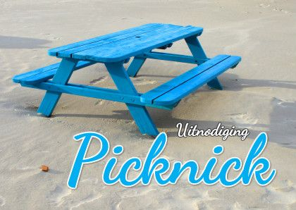 Uitnodiging Picknick - Uitnodigingen - Kaartje2go