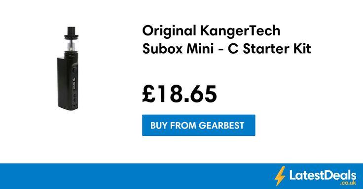Original KangerTech Subox Mini - C Starter Kit, £18.65 at Gearbest