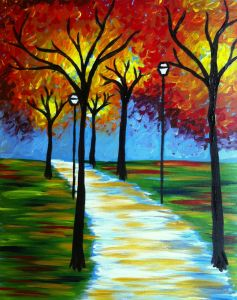 Fall in Love. Painting and wine at pinot's palette