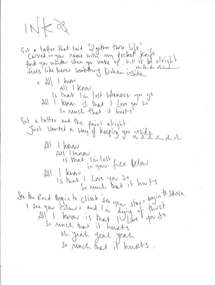 Lyric songs about sex lyrics : 45 best Coldplay Music Note Tattoos images on Pinterest | Coldplay ...