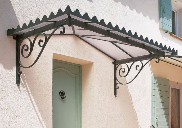 Doors and window canopy / wrought iron ESDRA Unopiu