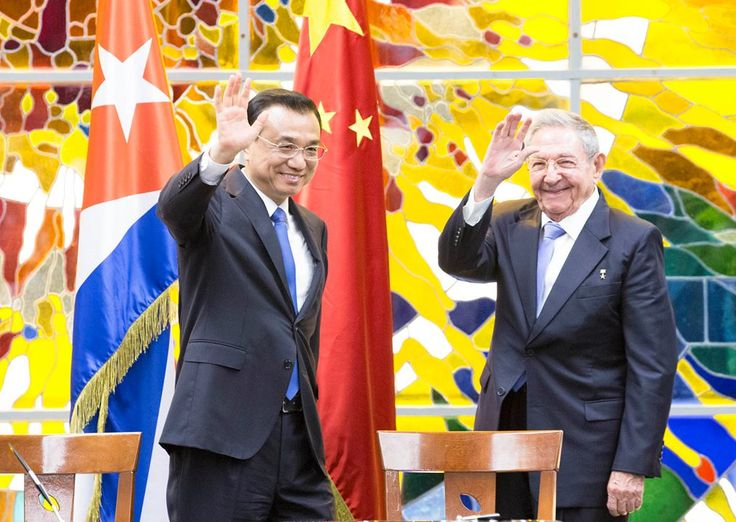 """Chinese Premier Li Keqiang paid an official visit to Cuba on Sept. 24-26. During the visit, Li Keqiang laid a wreath to the monument of Cuban national hero Jose Marti. Cuban President Raul Castro held a welcoming ceremony for Li. The two leaders held talks and witnessed the signing of bilateral cooperative agreements. Along with Cuban leaders, Li watched """"Night of Havana"""" performance under the theme of China and Cuba with Joined Hands -- Year of China-Latin America Cultural Exchange."""
