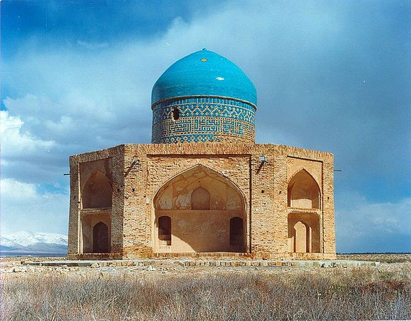 The Molla Hassan Kāshi Mausoleum (Persian: آرامگاه ملاحسن كاشي) is a free-standing isolated edifice located 2.5 km to the south of Soltaniyeh, Iran. This 16th-century mausoleum was built during Shah Tahmasp I, to honor Molla Hassan Kāshi, a 14th-century mystic whose recasting of Islam's ...