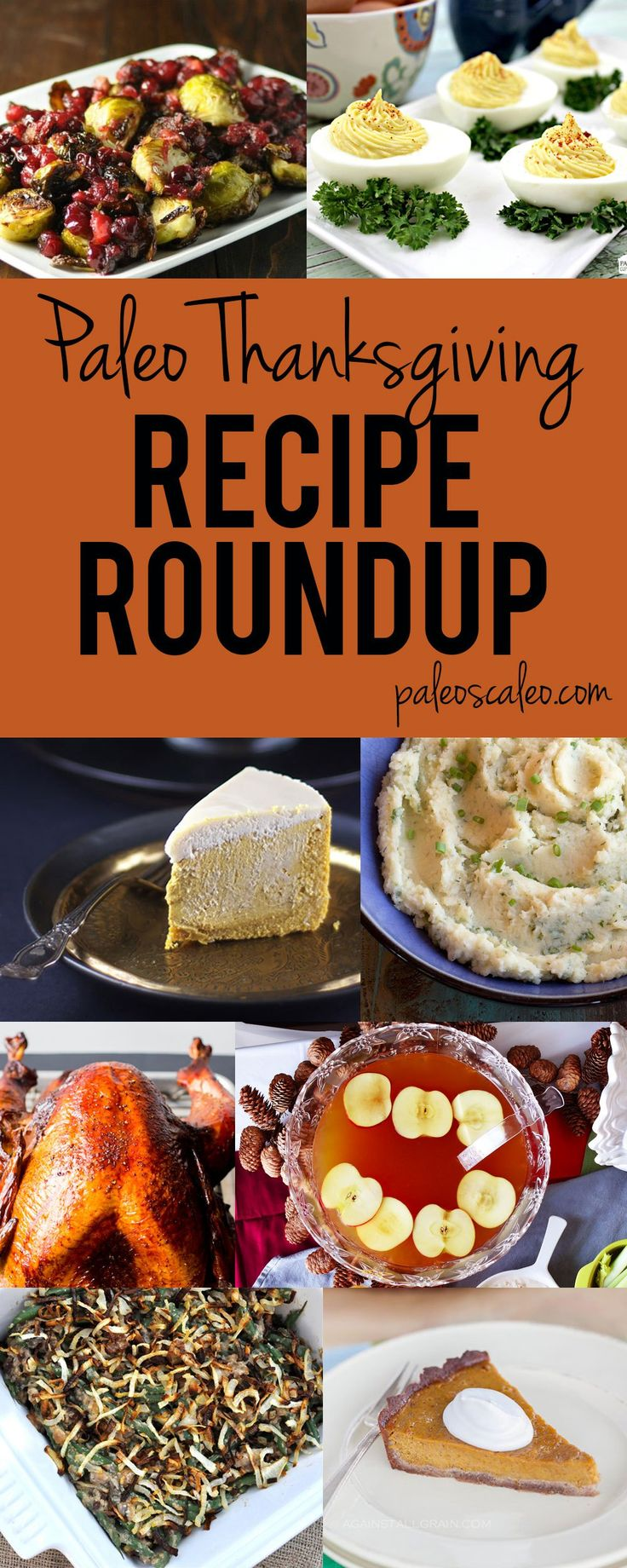 Paleo Thanksgiving Recipe Roundup | PaleoScaleo.com