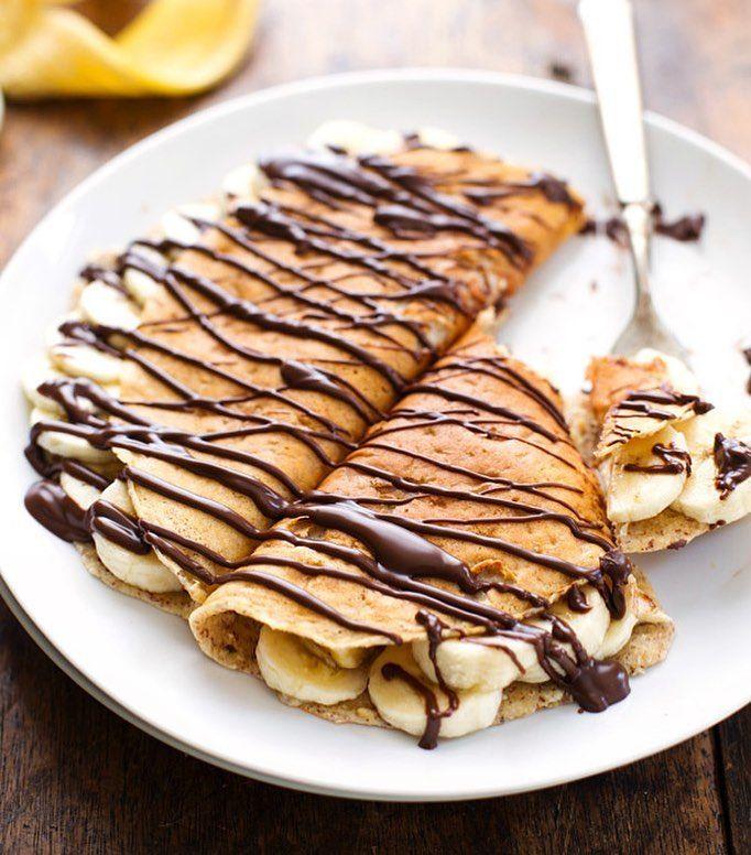 Mandel Hafer Bananen Crepes Von P Mandel Hafer Bananen Crepes Von