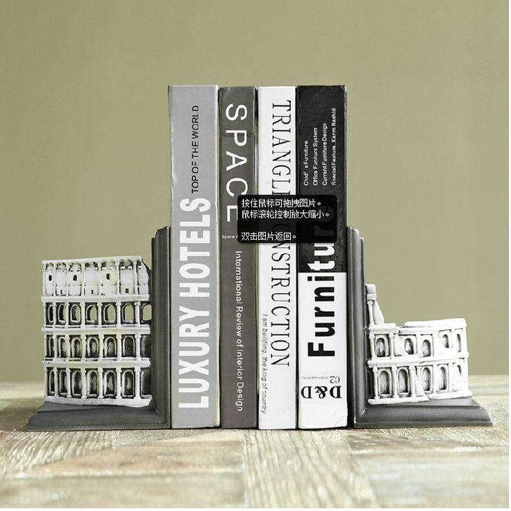 Американский кантри декоративные украшения ремесел книги книга по французский суд строительные смолы держатели для книг старинные домашнего декора 1 компл.купить в магазине Eternal Household Artware наAliExpress