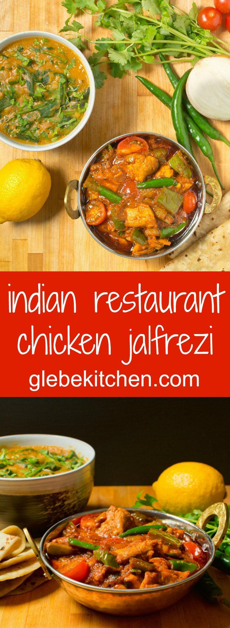 Indian restaurant chicken jalfrezi is a hot, smoky curry. It's no wonder it's a favourite.