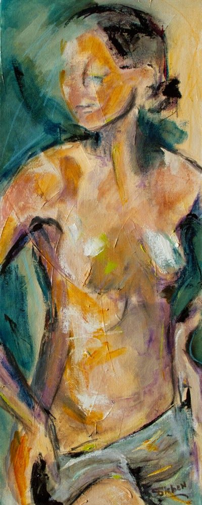 Figurative Artists International Expressionist Nude