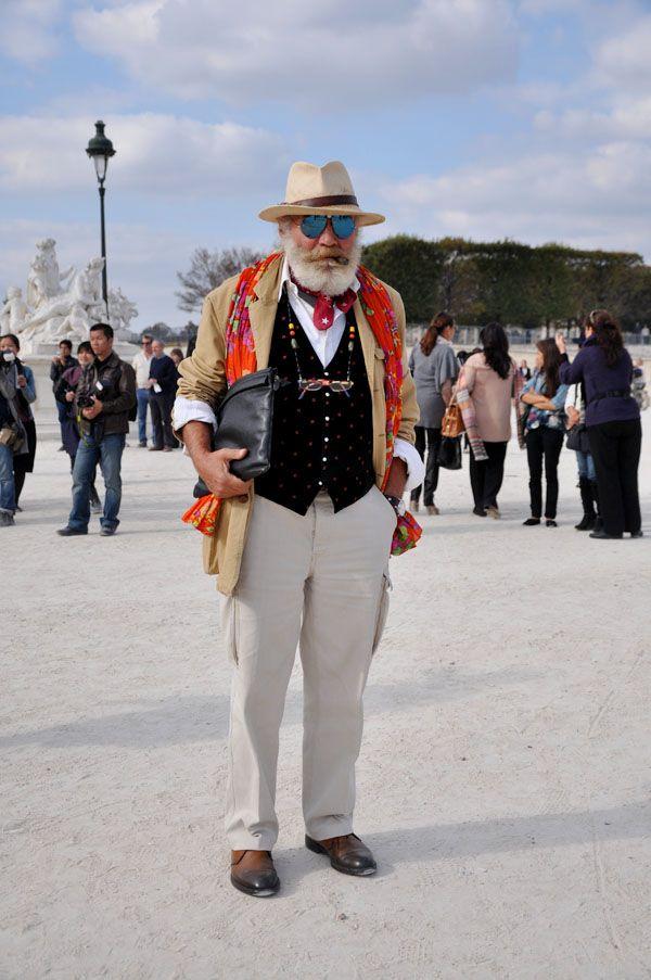 Fashion old man