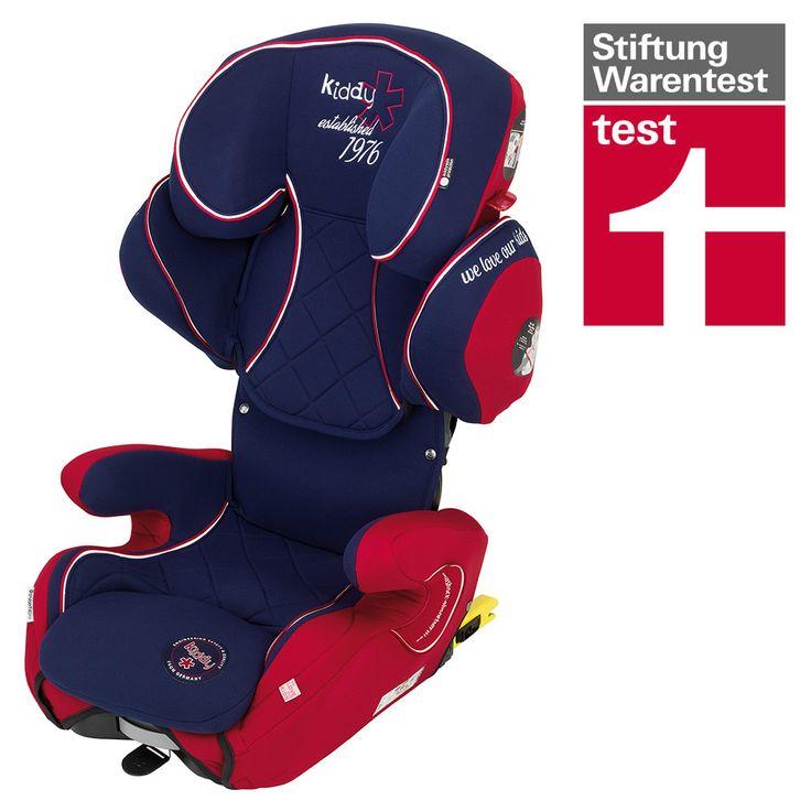 Für Kinder von 3,5 bis 12 Jahre: Mitwachsender #Kindersitz KIDDY Cruiserfix Pro San Marino 2015 | Babyartikel.de