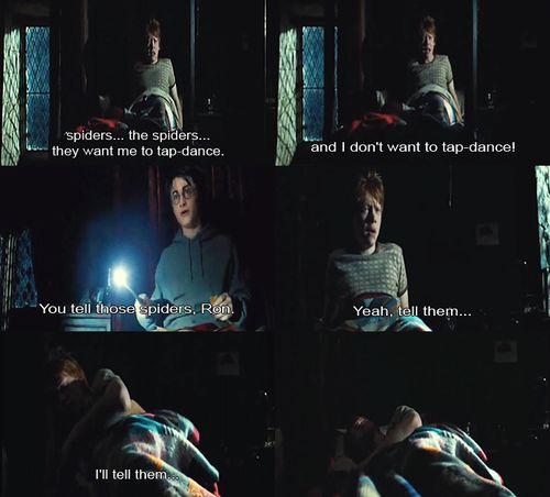 Hahaha I love this part in Prisoner of Azkaban!