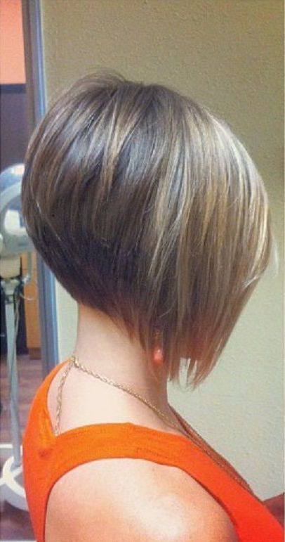 angled bob haircut for fine hair