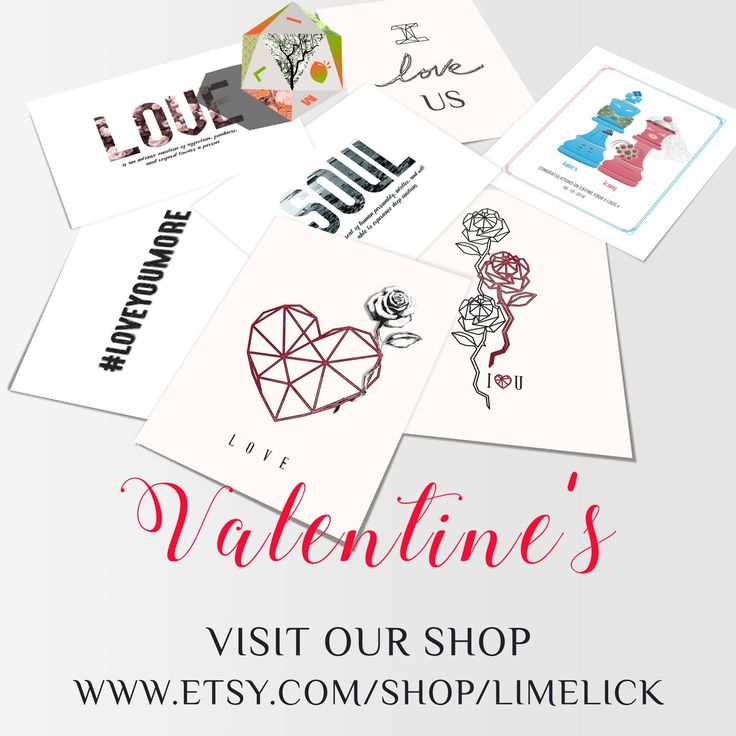 Share your Love! Download this wonderful Valentine's Print. Get 20% OFF buying 2 or more prints with code LIMELICK20 Happy Valentine's Day!!!