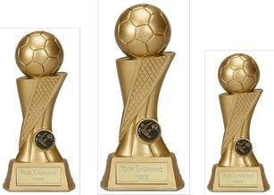 Dynamic football #trophy..