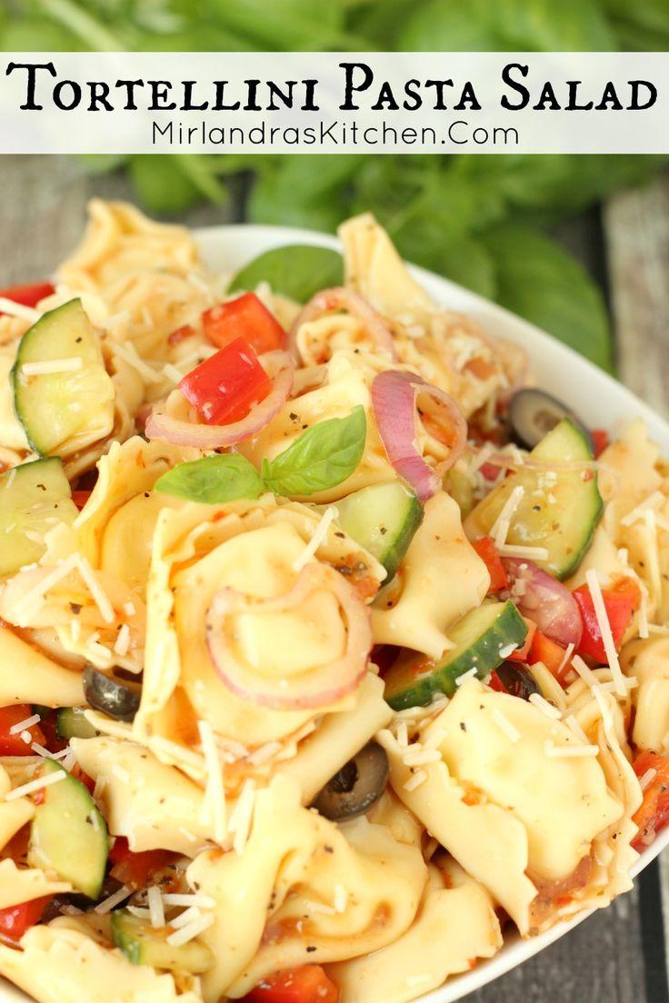 Tortellini Pasta Salad | Recipe | Tortellini Pasta Salads, Tortellini ...