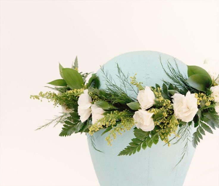 DIY Flower crown kit - Just Add Flowers, Boho hair wreath, Bridal flower wreath, Wedding headpiece, Floral supplies, Make your own crown by whichgoose on Etsy https://www.etsy.com/listing/225980164/diy-flower-crown-kit-just-add-flowers