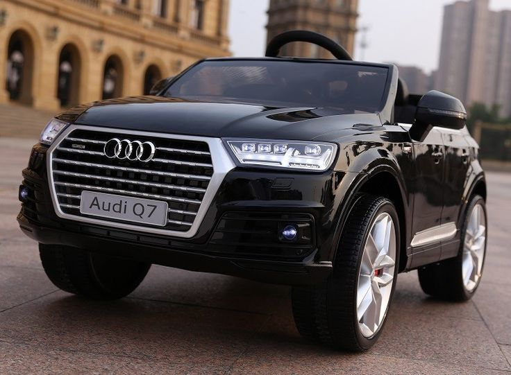 Bella Play Battery Operated Audi Q7 With Leather Seat 12V - Black  - Pre Order - Available August
