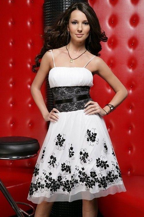 Черно-белые платья - Вечерние платья (красивые платья). Единая Служба Объявлений