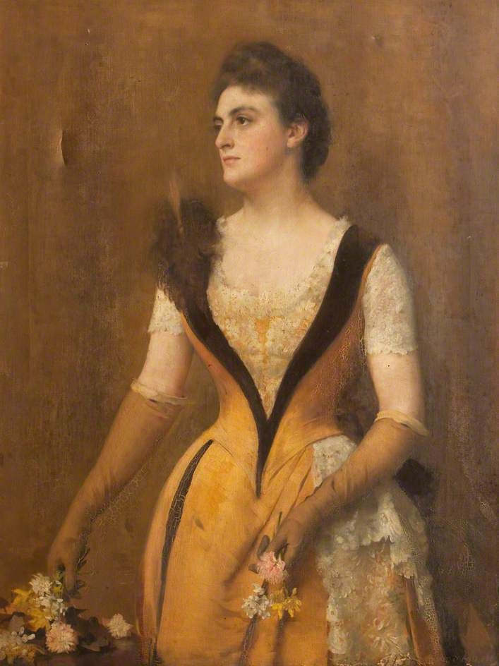 BBC - Your Paintings - Portrait of an Unknown Lady