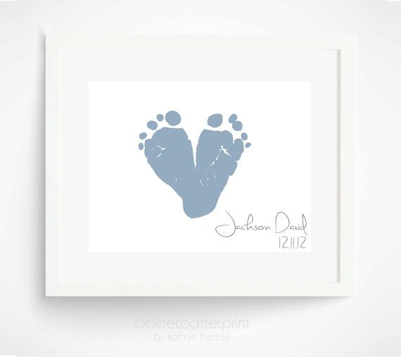 Best 25 keepsake baby gifts ideas on pinterest diy gift for gift for new dad personalized baby footprint heart valentines day gift first fathers day gift gift for grandparents grandpa negle Gallery