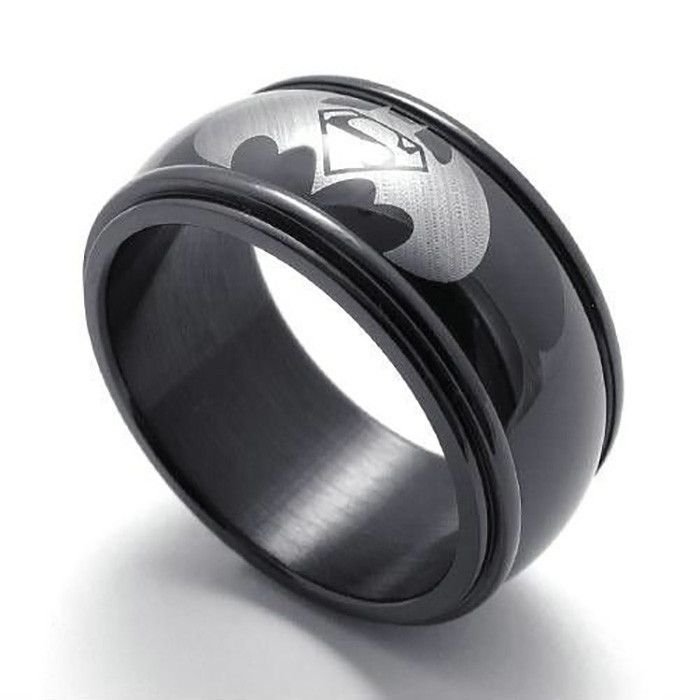Great DC Superman Vs Batman Logo Ring More
