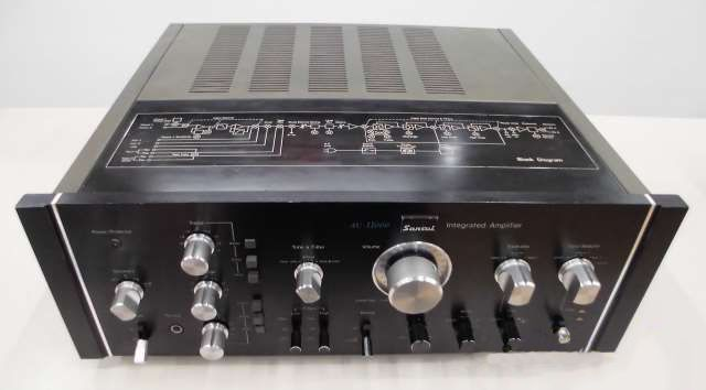 SANSUI AU-11000 88250 Used Pre Amplifier #SANSUI