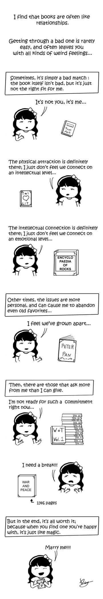 Comic by Kay of The Infinite Curio: http://www.infinitecurio.com/blog/2011/07/13/comic-relationships/